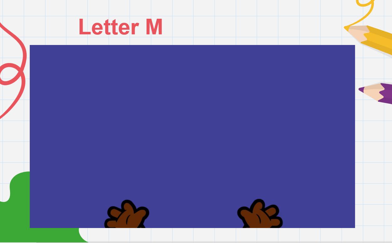 درس Letter Mm الصف الاول مادة اللغة الانجليزية - بوربوينت