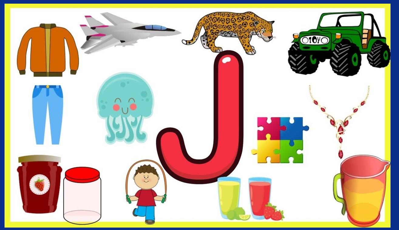 درس Letters Jj الصف الاول مادة اللغة الانجليزية - بوربوينت