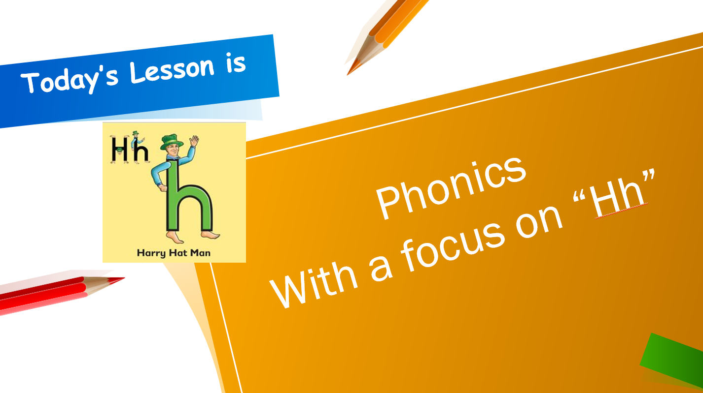 درس Letters Hh الصف الاول مادة اللغة الانجليزية - بوربوينت