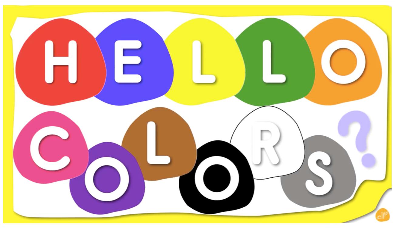 درس Review color الصف الاول مادة اللغة الانجليزية - بوربوينت