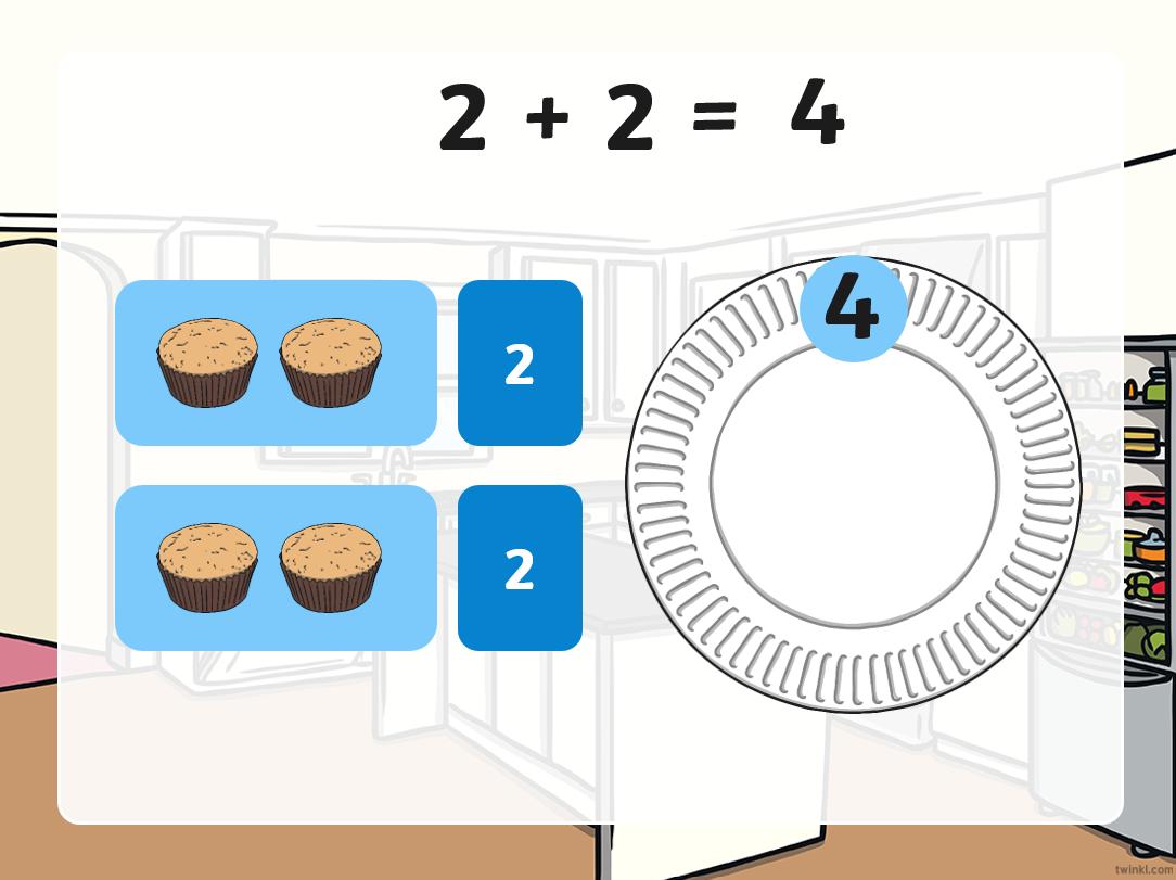 لعبة اجمع مع الشيف الصف الاول مادة الرياضيات المتكاملة - بوربوينت