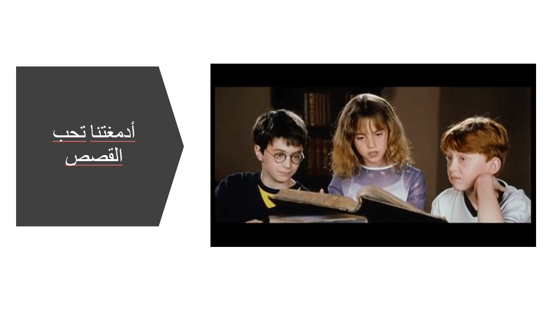 حل ادمغتنا تحب القصص الصف الثامن مادة اللغة العربية - بوربوينت