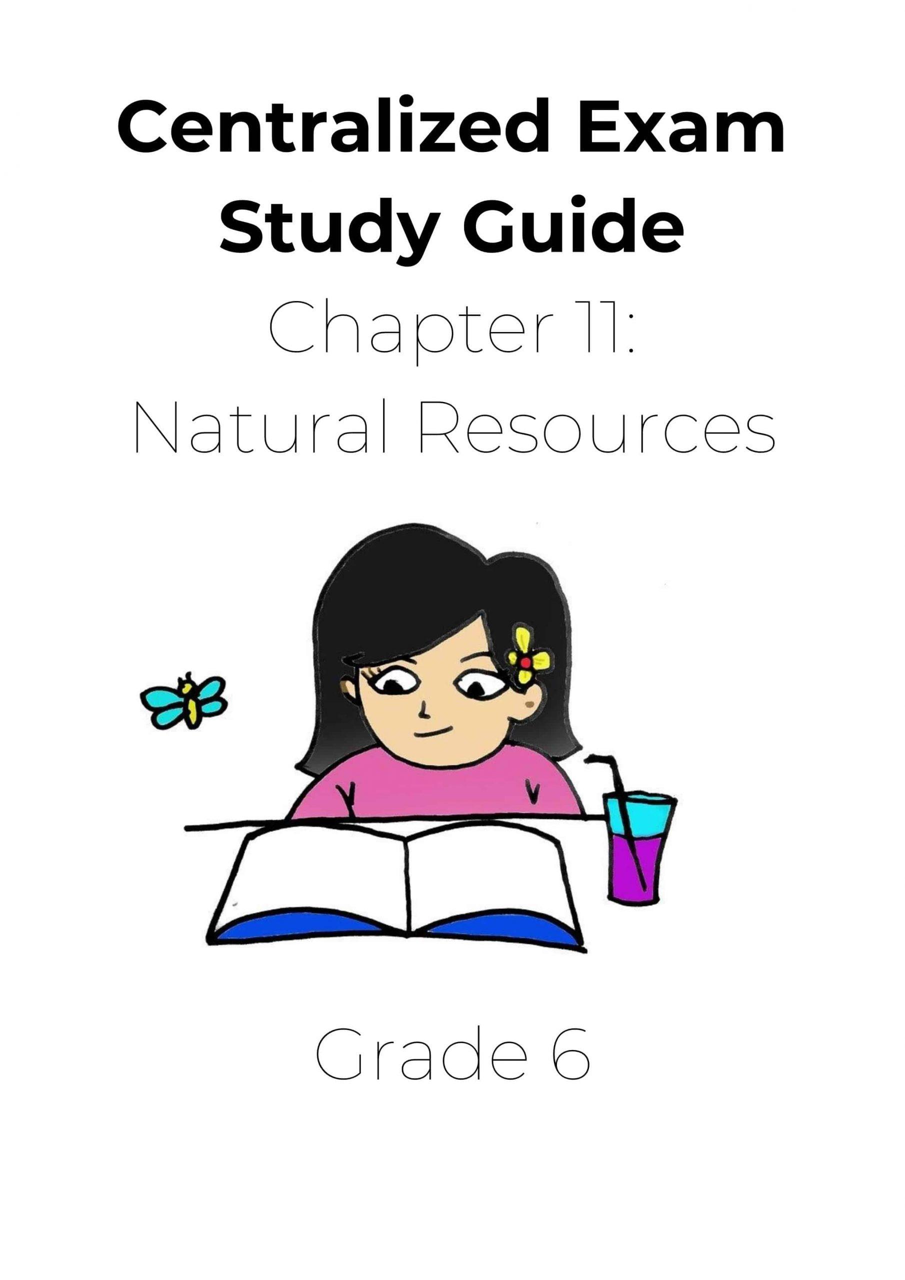 ملخص Natural Resources بالإنجليزي الصف السادس مادة العلوم المتكاملة